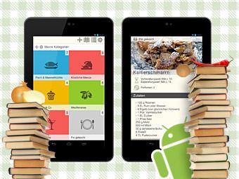 Meine rezepte app kochen backen genie en - Android app ideen ...