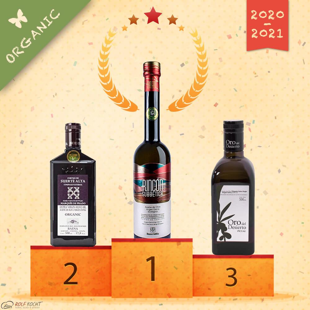 bestes Olivenöl der Welt 2020 / 2021 Organic bio Olivenöl