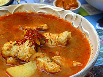 Bouillabaisse - provenzalische Fischsuppe