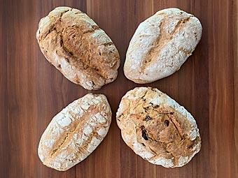 Brot selber backen - einfach und schnell, vom Bauernbrot bis Vollkornbrot