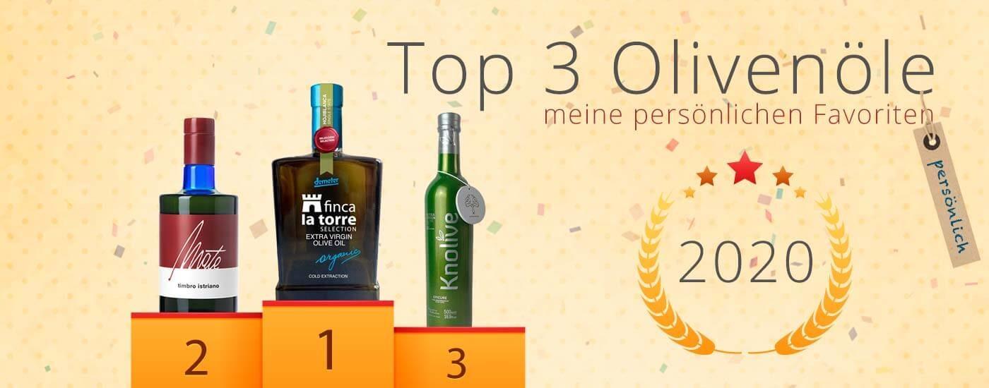Meine persönlichen Olivenöl-Favoriten